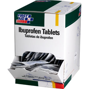 Ibuprofen Tablets, 100/Box, 50 Packs (2/Pack)
