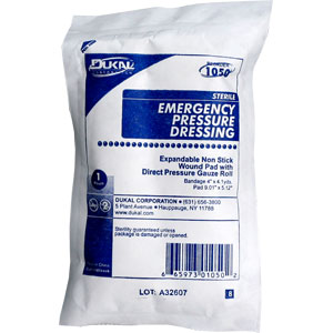 Super-Stop Bandage (Emergency Pressure Dressing)