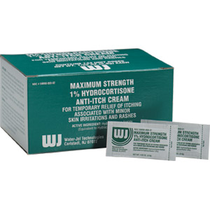 Hydrocortisone Cream 1.0%, .9 gm., 144/Box