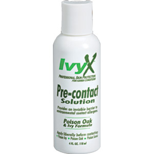 IvyX Pre-Contact Solution 4 oz 12 per case