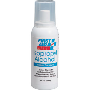 4 oz Isopropyl Alcohol Pump Spray