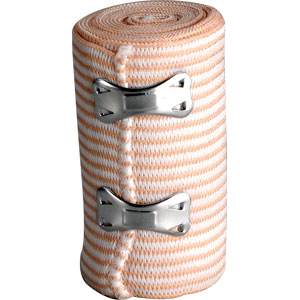 "Elastic Bandages w/2 Fasteners, 2"" x 5 yds"