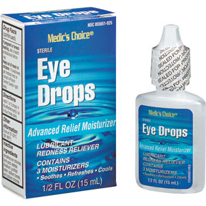 1/2 oz Eye Drops, Industrial Strength for Welder's Arc