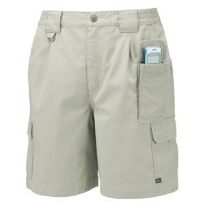 Khaki 5.11 Tactical Cotton Shorts, Waist Size 34&#34