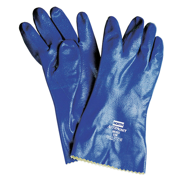 Nitri-Knit Supported Nitrile Gloves