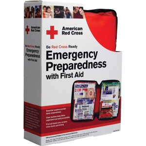 107 Piece Emergency Preparedness & First Aid Kit