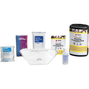Germ Guard Personal Protection Pack w/N95 Mask