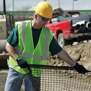 Mesh Safety Vest, 4XL/5XL