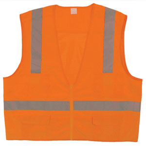 Class 2 Surveyor Vest, Orange, L/XL