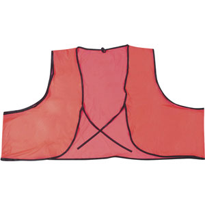 General Purpose, .10mm Single Ply, Orange PVC Vest
