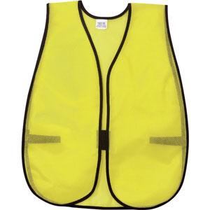General Purpose Poly Mesh, Lime Safety Vest