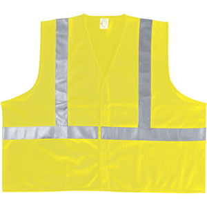 Lime Polyester Safety Vest, L