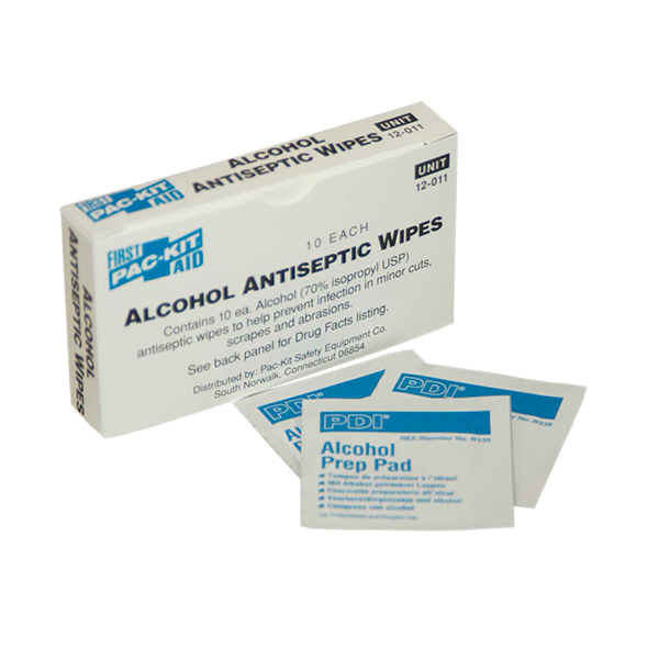 Alcohol Wipes (10/Box)