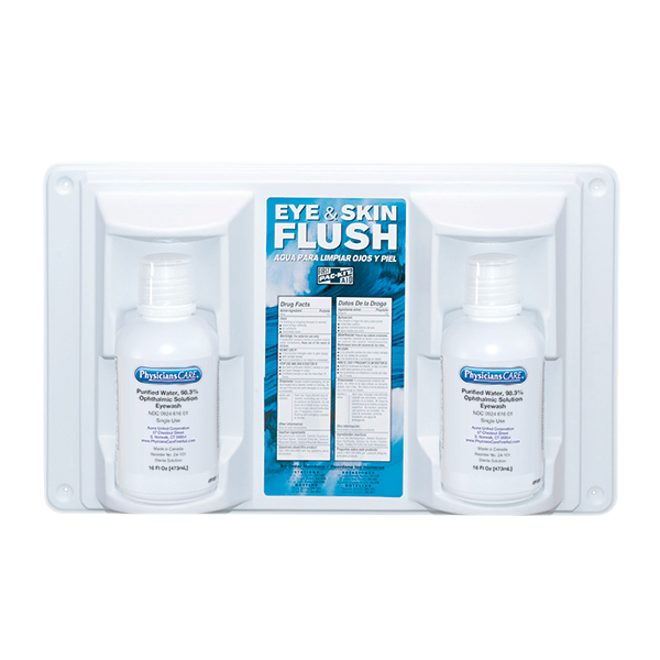 Eye Flush Station, Twin (16 oz)