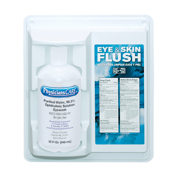Eye Flush Station, Single (32 oz)