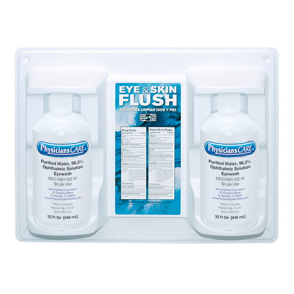 Eye Flush Station, Twin (32 oz)