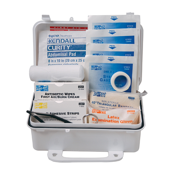 10-Person, 57-Piece Weatherproof ANSI First Aid Kit