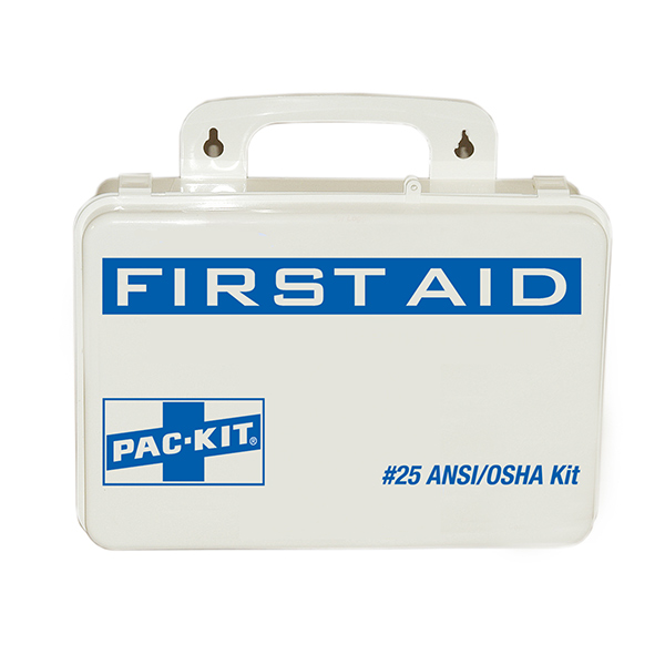 25-Person, 68-Piece Weatherproof ANSI First Aid Kit