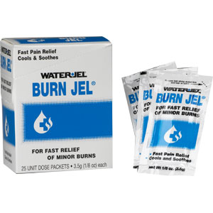 Water-Jel Burn Jel (25/Box)