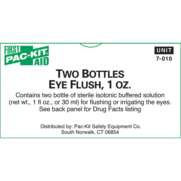Eye Flush Bottle, 1 oz (2/Box)