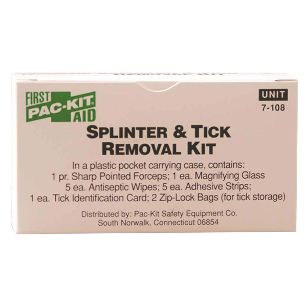Splinter and Tick Removal Kit