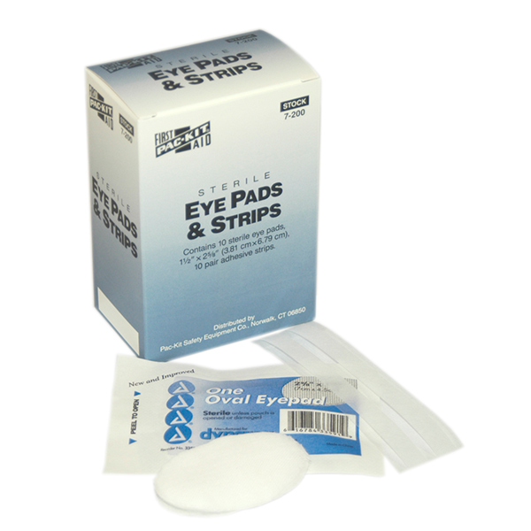 Eye Pads & Strips (10/Box)