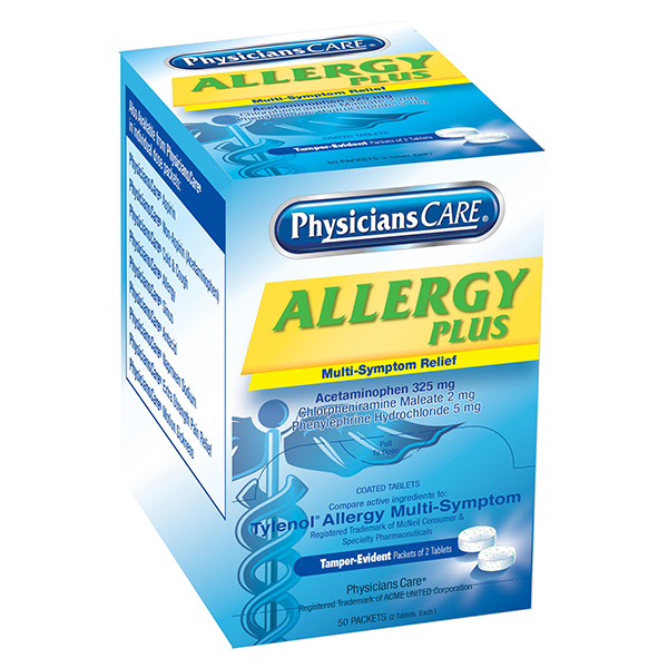 Allergy Plus Antihistamine (100/Box)