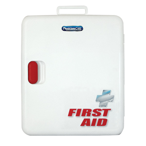 100-Person, 376-Piece Xpress First Aid Kit w/o Medications (Plastic)