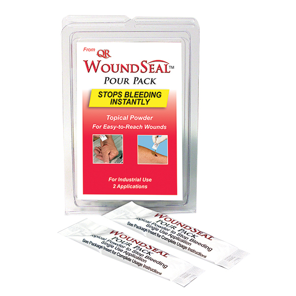 WoundSeal Blood Clot Powder, Pour Packs (2/Pkg)