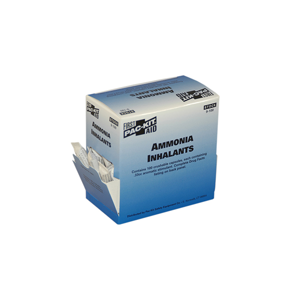 Ammonia Inhalants (100/Box)