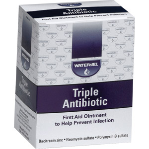 Water-Jel Triple Antibiotic Ointment (144/Box)