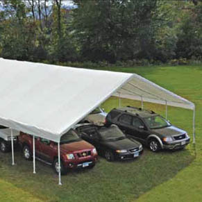 30' Wide Canopies
