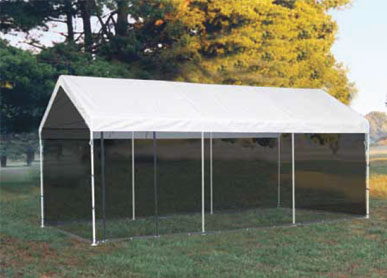 10'W x 20'L x 9'6&quot;H - 2-in-1 Canopy Pack <br> Free Shipping!!! </br>