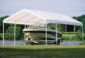 12'W x 26'L x 9'6&quot;H - Super Max Canopy (WHITE) <br> Free Shipping!!! </br>