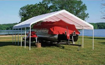 18&quot;W x 30'L x 11'H - Super Max Canopy <br> Free Shipping!!! </br>