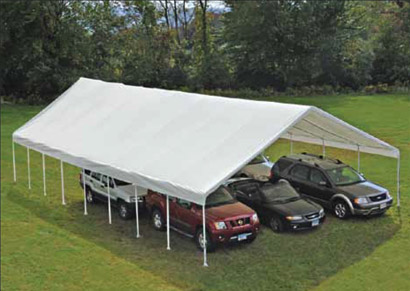 30'W x 50'L x 13'H - Ultra Max Big Country Canopy <br> Free Shipping!!! </br>