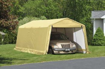 10'W x 20'L x 8'H - Logic Auto Shelter <br> Free Shipping!!! </br>