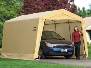 10'W x 15'L x 8'H - Auto Shelter <br> Free Shipping!!! </br>