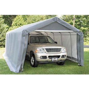 12'3&quot;W x 20'L x 8'6&quot;H - Peak Style Shelter <br> Free Shipping!!! </br>