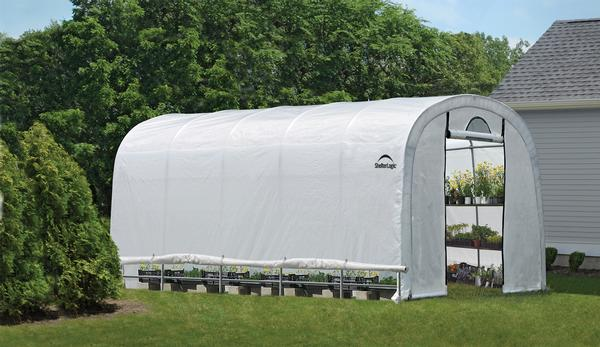 12'Wx20'Lx8'H Round Style Organic Growers Greenhouse