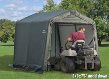 8'W x 12'L x 7'6&quot;H - Peak Style Shelter <br> Free Shipping!!! </br>