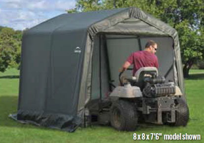 8'W x 16'L x 7'6&quot;H - Peak Style Shelter <br> Free Shipping!!! </br>