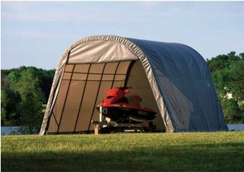 13'W x 20'L x 9'11&quot;H - RoundTop Shelter <br> Free Shipping!!! </br>