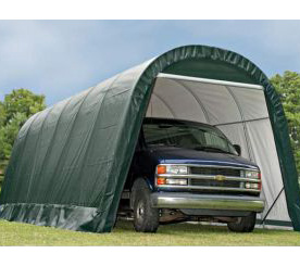 12'W x 24'L x 10'H - RoundTop Shelter <br> Free Shipping!!! </br>