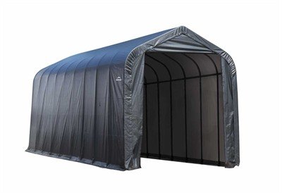 15'W x 28'L x 12'H - Peak Style Shelter <br> Free Shipping!!! </br>