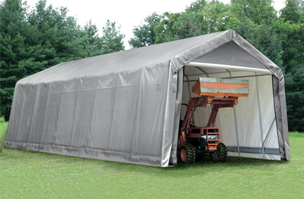 15'W x 36'L x 16'H - Peak Style Shelter <br> Free Shipping!!! </br>