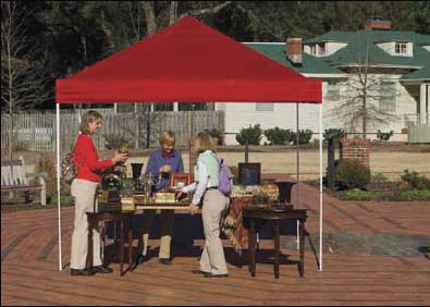 10'W x 10'L x 10'1&quot;H - Store It Pop-up Straight Leg Canopy <br> Free Shipping!!! </br>