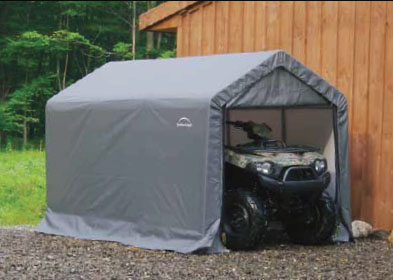 & 6 to 8 Ft. Wide Portable Garages: Small Portable Garage Carports