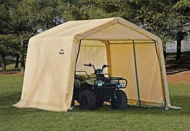 10'W x 10'L x 8'H - Heavy Duty Shed-in-a-Box <br> Free Shipping!!! </br>