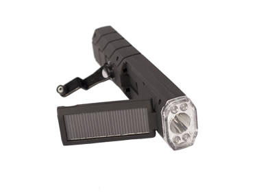 Torch Solar Crank Flashlight